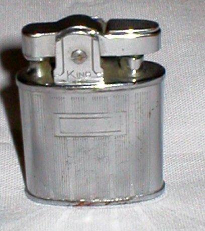 Vintage Ladies King Petrol Lighter