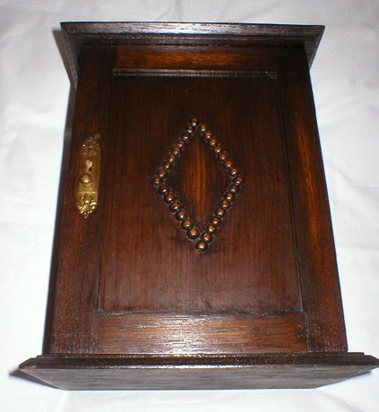 Early Edwardian Smokers Cabinet With Pipes