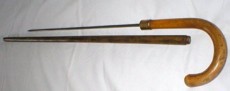 Sword Stick Antique Swordstick With Crook Handle