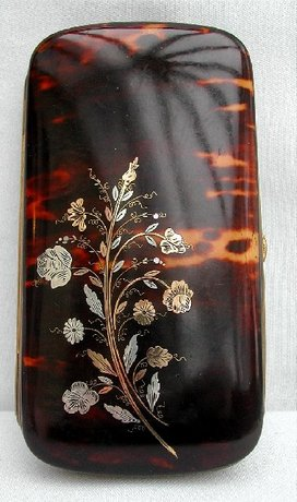 Tortoiseshell Cigar Case c. 1850